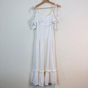 Rebecca Minkoff Dresses - Rebecca Minkoff Mojave Cold Shoulder Maxi Dress